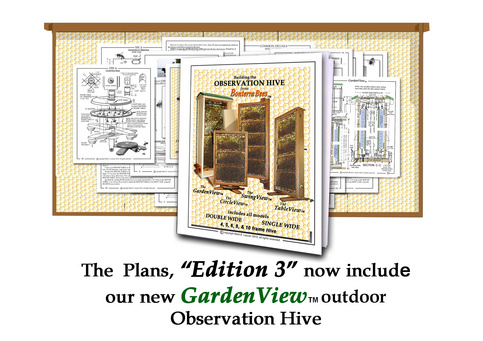do it yourself observation hive plans
